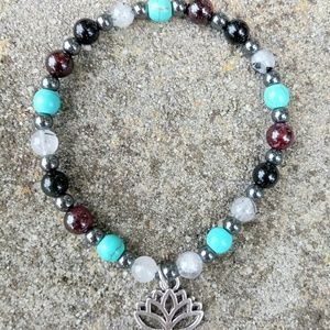 Healing & Protection Lotus Bracelet